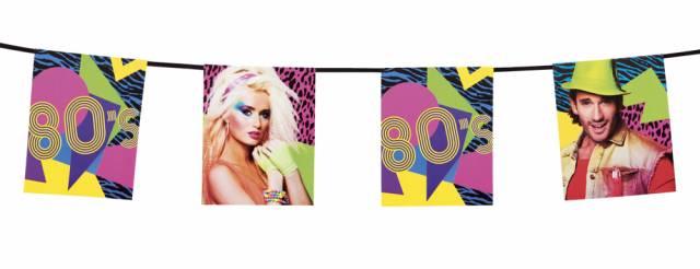 1980`s Cardboard Foto Girlang 4 meter