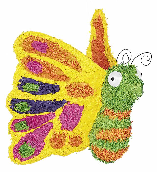 Pinata Grønn Sommerfugl