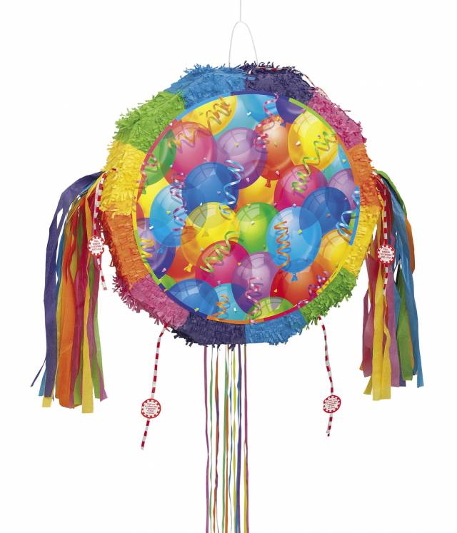 Piñata Brilliant Balloons Pull Out