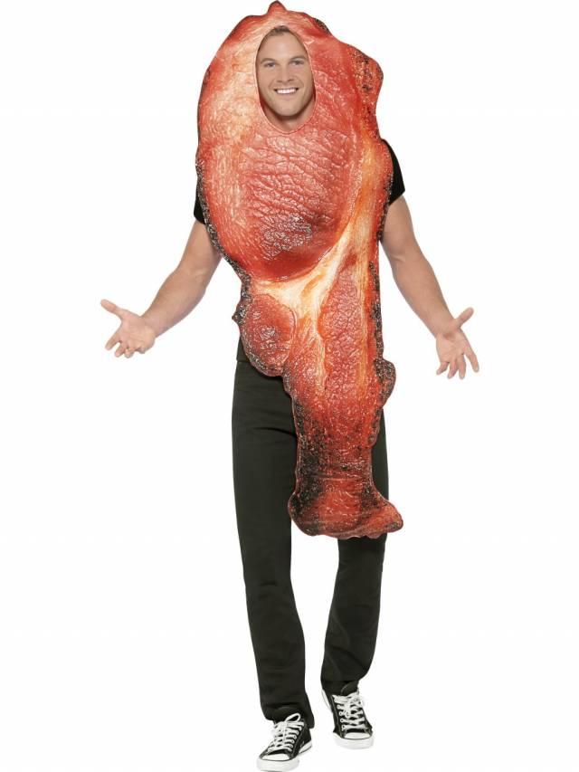 Bacon Kostyme Onesize