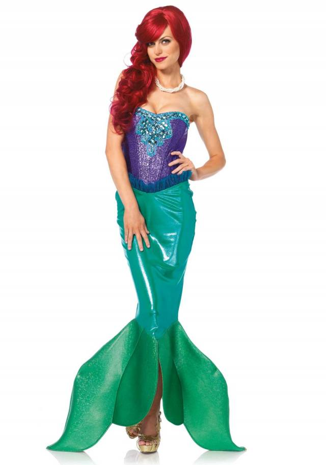 Deluxe Fairytale Mermaid Leg Avenue