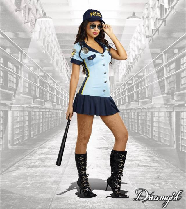Criminally Sexy Police Dreamgirl