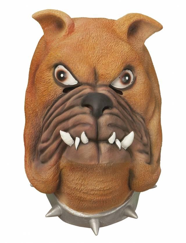Bulldog Latex Maske