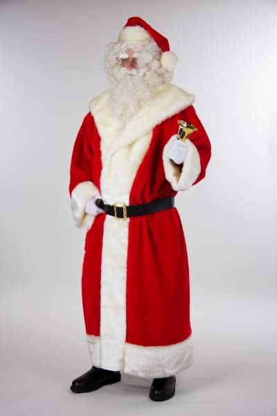 Santa Plush Coat Super Deluxe FAM