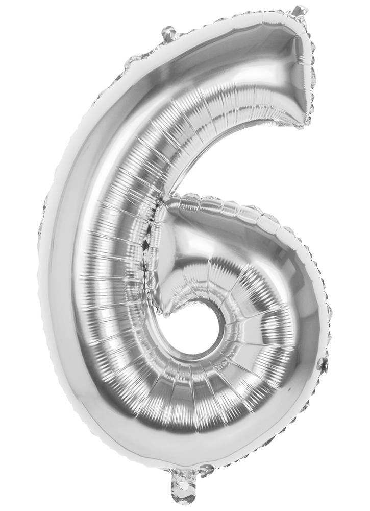 30 års ballonger Folie Ballonger   30 År Sølv 30 års ballonger