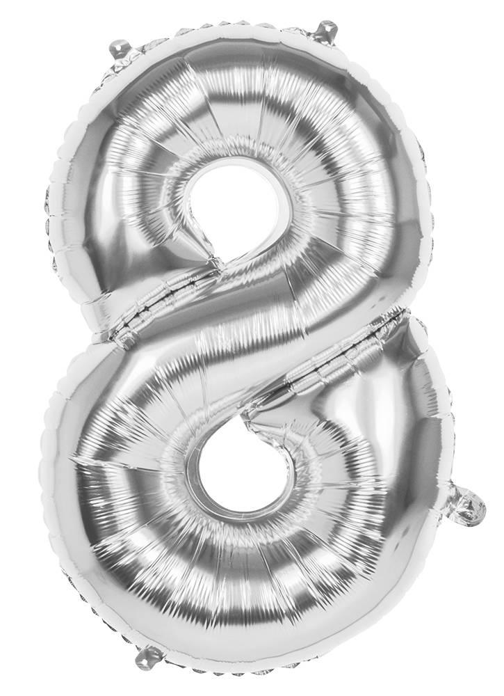 ballonger 20 år Folie Ballonger   20 År Sølv ballonger 20 år