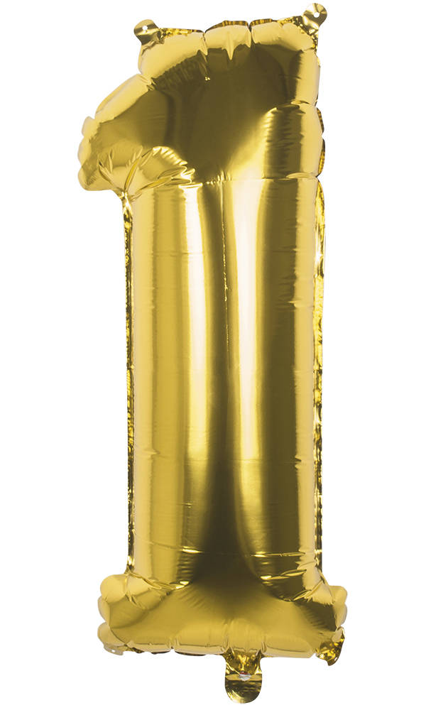 1 Tallballong Folie Jumbo 86cm GULL