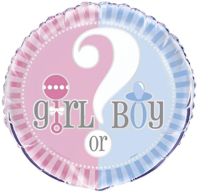 Folieballong Boy or Girl?