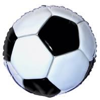 Folieballong Fotball 3D