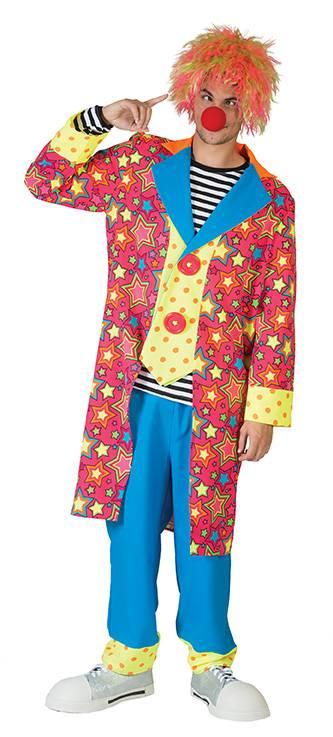 Clown Man Frakk & Vest Deluxe