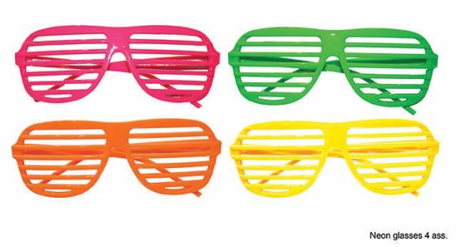 1980s Briller Neon Persienne Bestselger!