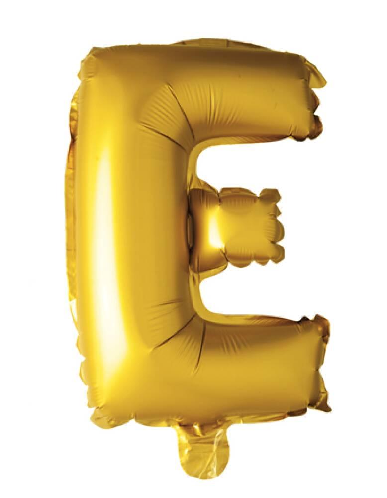 Bokstavballong Gull Folie 41 cm E
