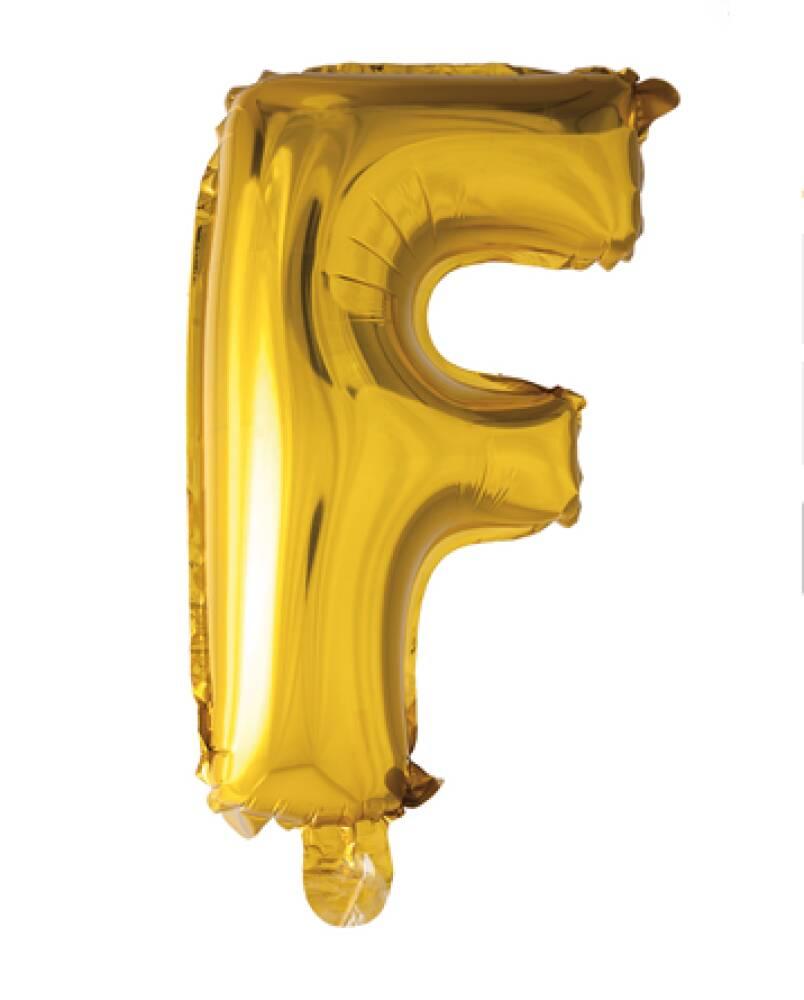 Bokstavballong Gull Folie 41 cm F