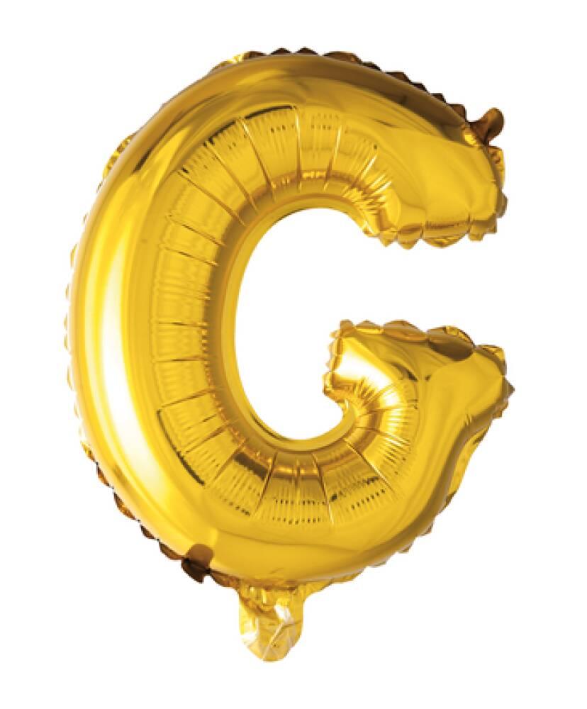 Bokstavballong Gull Folie 41 cm G