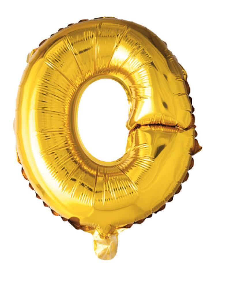 Bokstavballong Gull Folie 41 cm O