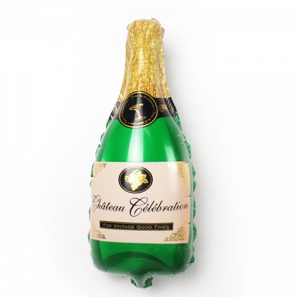 Champagneflaske Folieballong Stor 100 cm