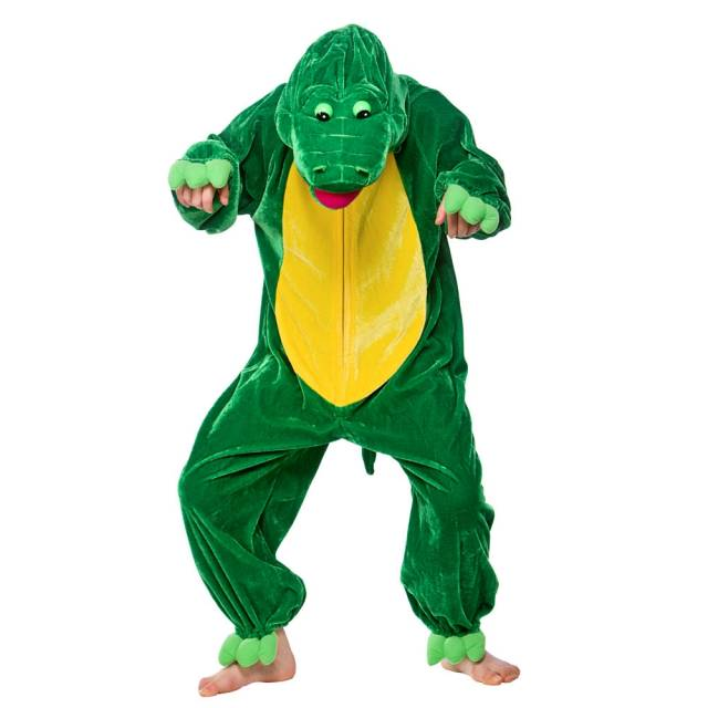 Barnekostyme Krokodille