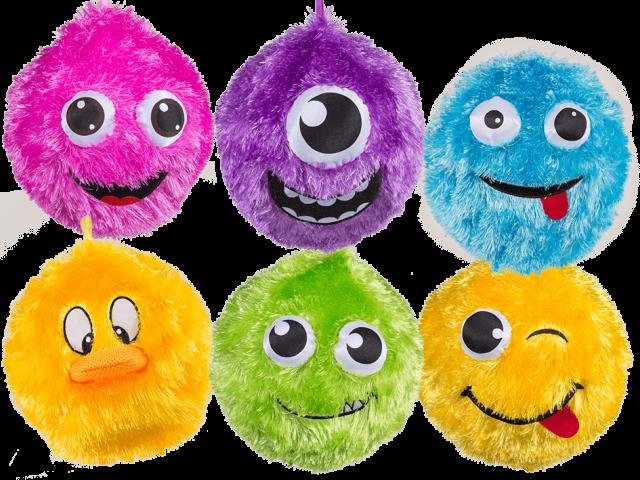 Oppblåsbare Plysj-baller