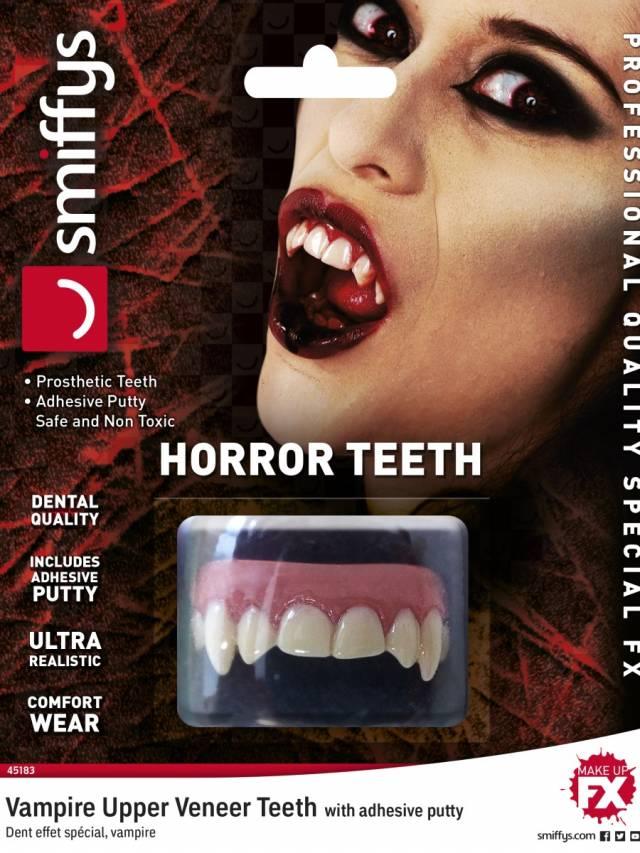 Horror teeth Vampire White Unisex F/X