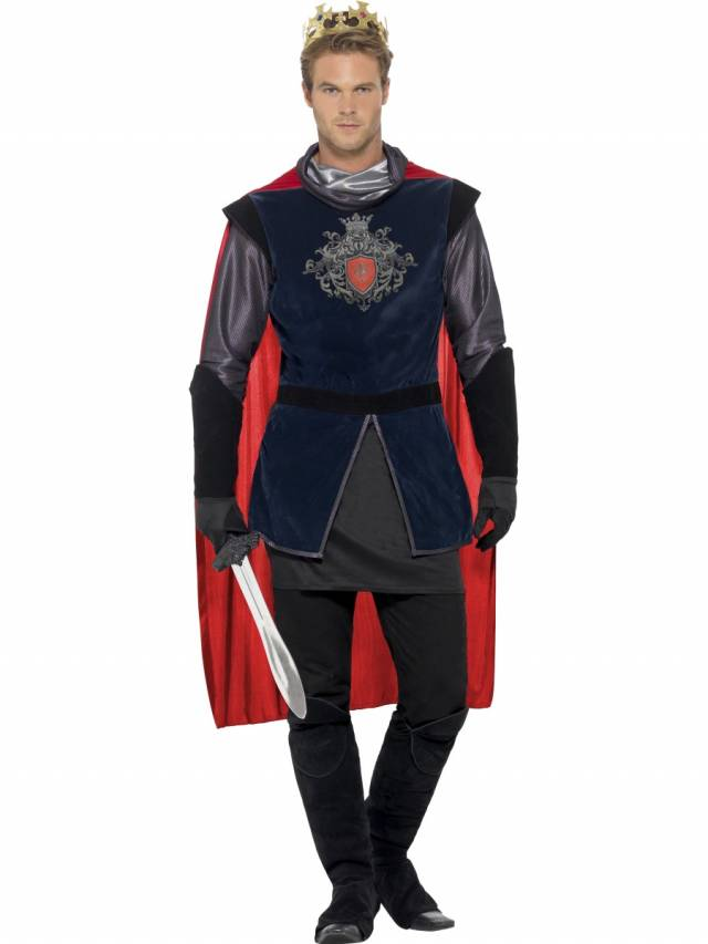 Deluxe King Arthur Kostyme