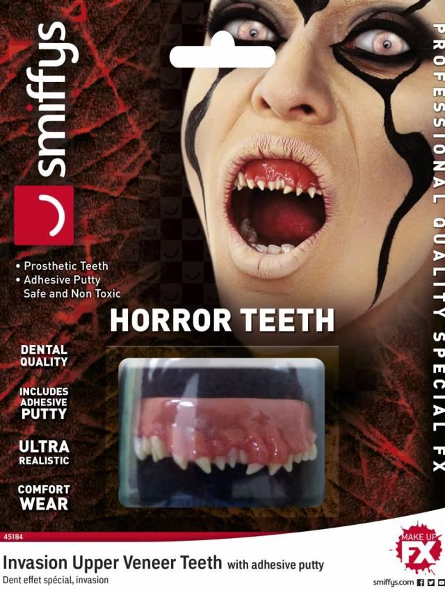 Horror teeth Invasion White