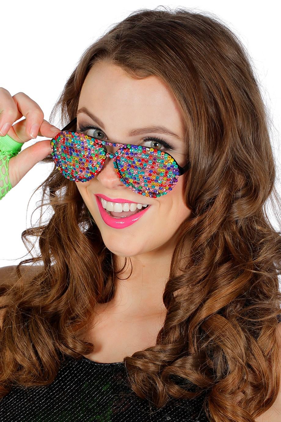 80's Glitter Briller