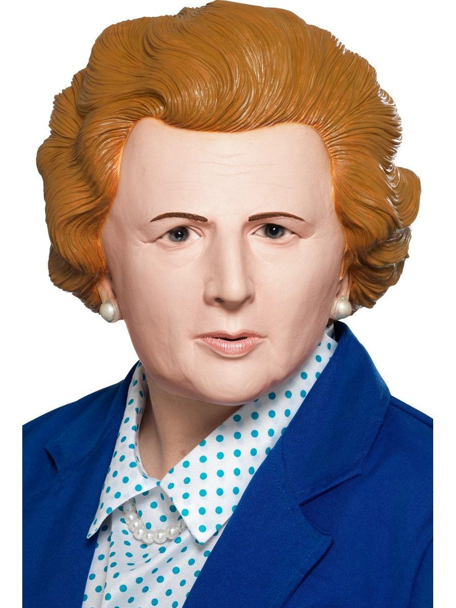 Iron Lady Latex Maske