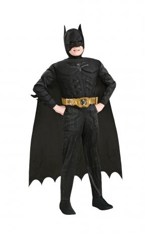 Batman Delux med Muskler Barn