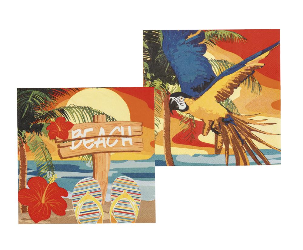 Beach Servietter 33*33 cm