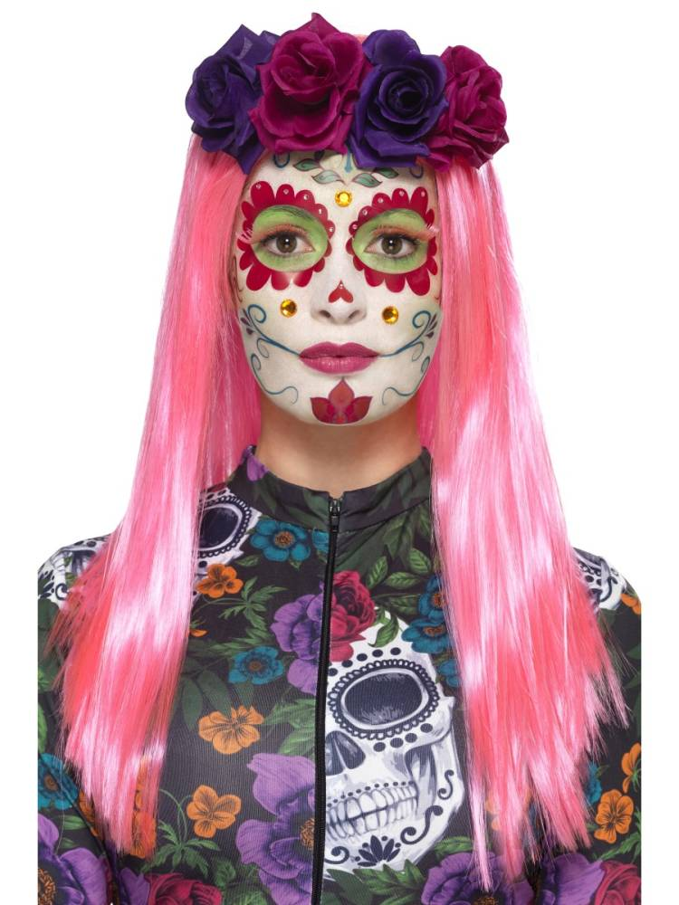 Day of the dead Sweetheart Neon Makeup kit