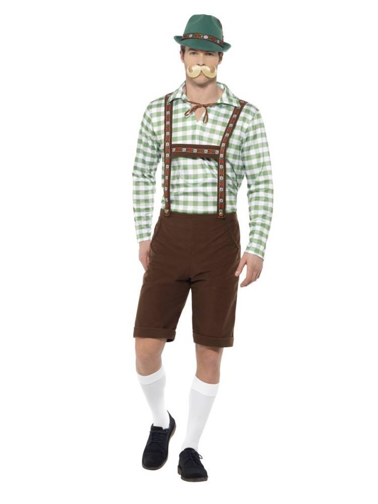 Alpine Bavarian Herrekostyme Komplett