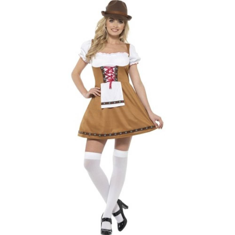 Bavarian Beer Maid Lysbrun