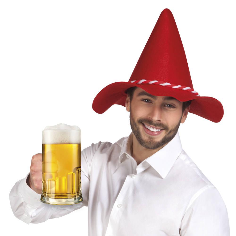 Bavaria Hatt Rød